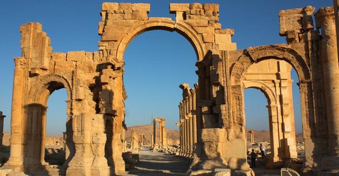 Triumfbågen i Palmyra
